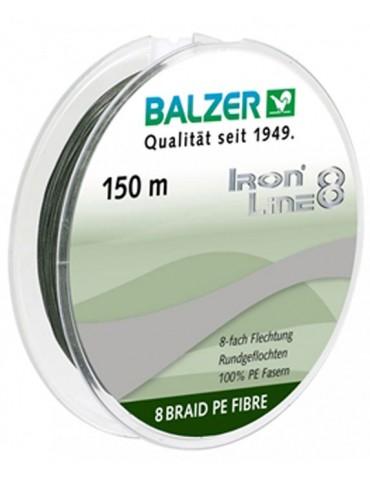 Balzer struna IRON 8x zelena 150m